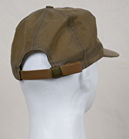 Hat - Heavy Garment Washed Canvas with Waxed Cotton Bill