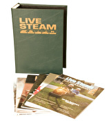 Binder for Live Steam and Outdoor Railroading Magazines