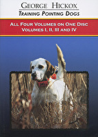 Training Pointing Dogs - All 4 Volumes - DVD