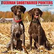Calendar - Just German Shorthaired Pointers 2021 Wall Calendar