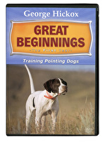 Great Beginnings 1st Year Training Pointing Dogs DVD
